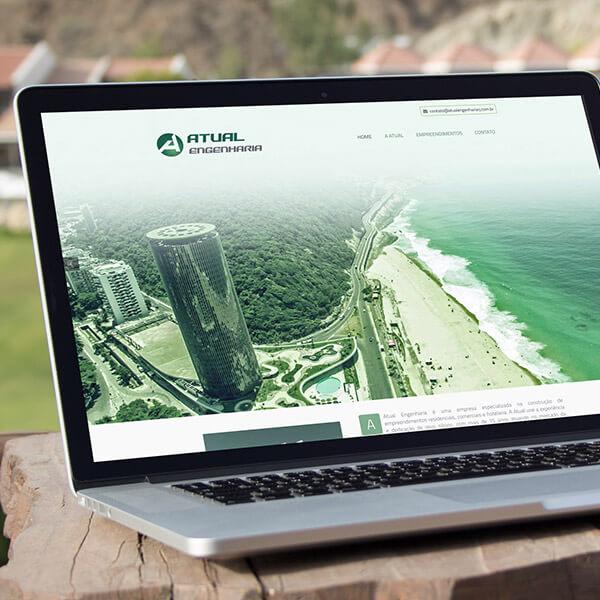 website atual engenharia rj