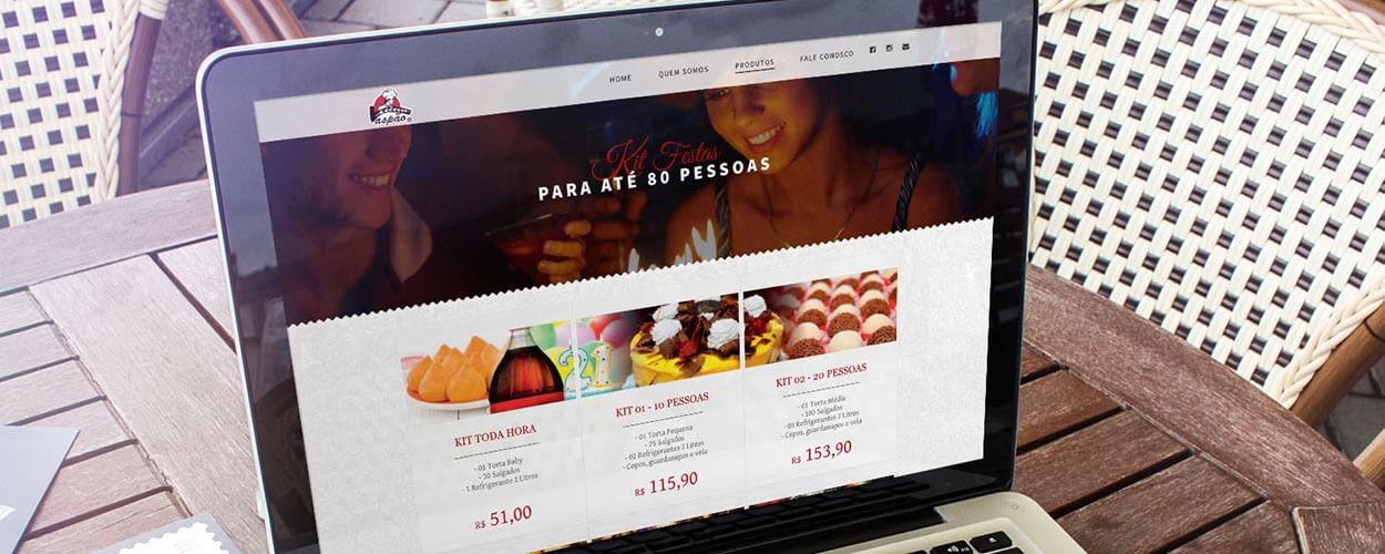 website vaspao recreio dos bandeirantes